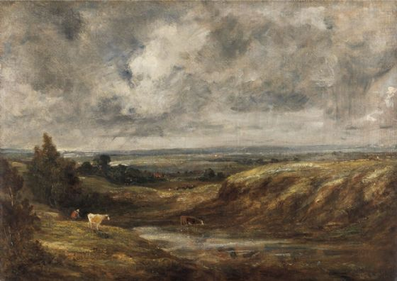 Constable, John: Hampstead Heath. Fine Art Print/Poster (5046)